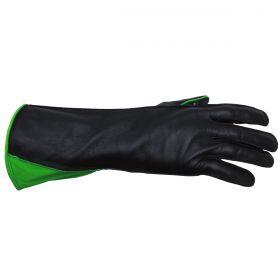 Luva de Montaria Guilherme Marchi Mão Esquerda Preta Logo Verde