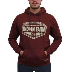 Moletom Indian Farm Masculino Marsala