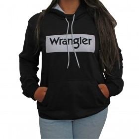 Moletom Wrangler Feminino Preto