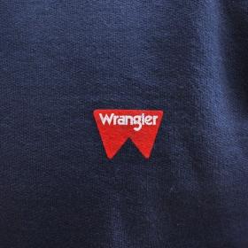 Moletom Wrangler Masculino Básico Azul Marinho