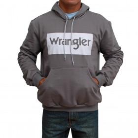 Moletom Wrangler Masculino Cinza