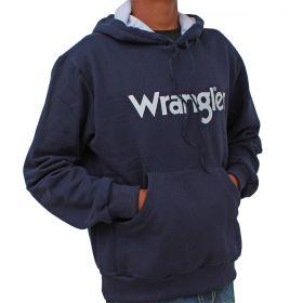 Moletom Wrangler Masculino  Nacional Azul Marinho