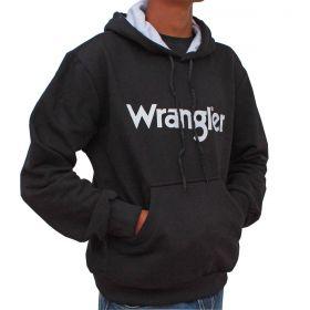 Moletom Wrangler Masculino Nacional Preto Com Capuz