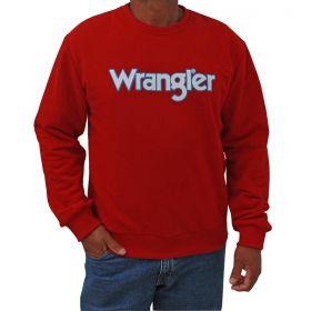 Moletom Wrangler Masculino Nacional Vermelho