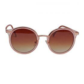 Óculos Shine Western De Sol Feminino Rose
