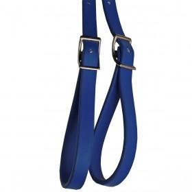 Rédea De Borracha Azul Top Equine