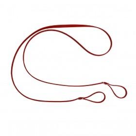 Rédea De Borracha Vermelha Top Equine