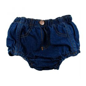 Short Jeans Classic Tapa Fralda Infantil