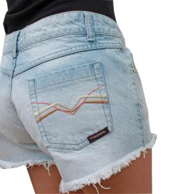 Short Os Vaqueiros Jeans Delave