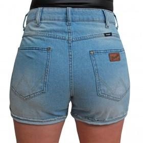 Short Wrangler Jeans Feminino Delave