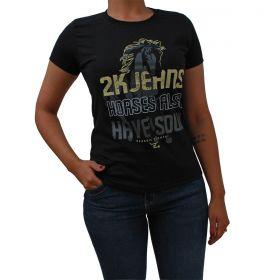 T-Shirt 2K  Jeans Horse Also Preta