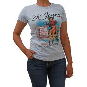 T-Shirt 2K This Life Cinza