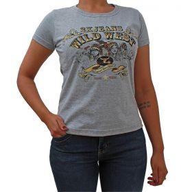 T-Shirt 2K Wild West Cinza