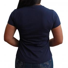 T-Shirt Indian Farm Cowgirls Azul Marinho