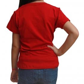 T-Shirt Infantil Texas Farm Vermelha