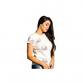 T-Shirt Miss Country Felicidades
