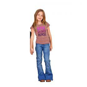 T-Shirt Os Vaqueiros Infantil Rosa