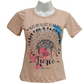 T-Shirt Stayrude Feminina Cocar