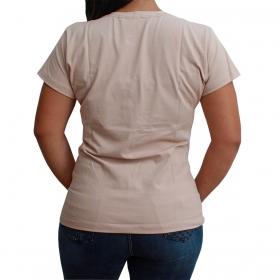 T-Shirt Texas Farm Bege Com Cacto