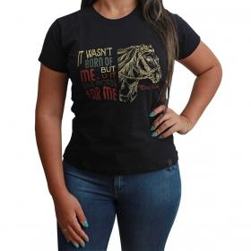 T-Shirt Texas Farm Preto It Wesn't