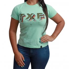 T-Shirt Texas Farm Verde Água TXF