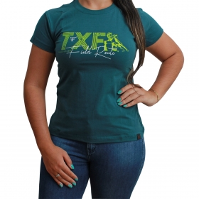 T-Shirt Texas Farm Verde TXF