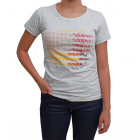 T-Shirt Tuff Cinza Mescla Venice