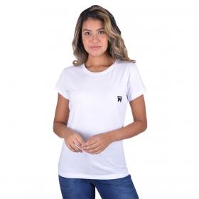 T-Shirt Wrangler Básica Branca