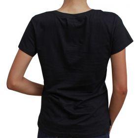 T-Shirt Wrangler Feminina Preta