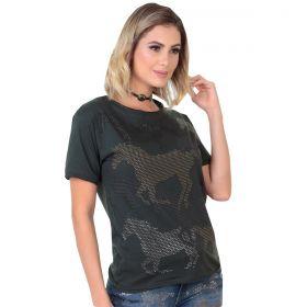 T-Shirt Zenz Western Mustang