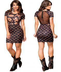 Vestido Feminino Buphallos Tule