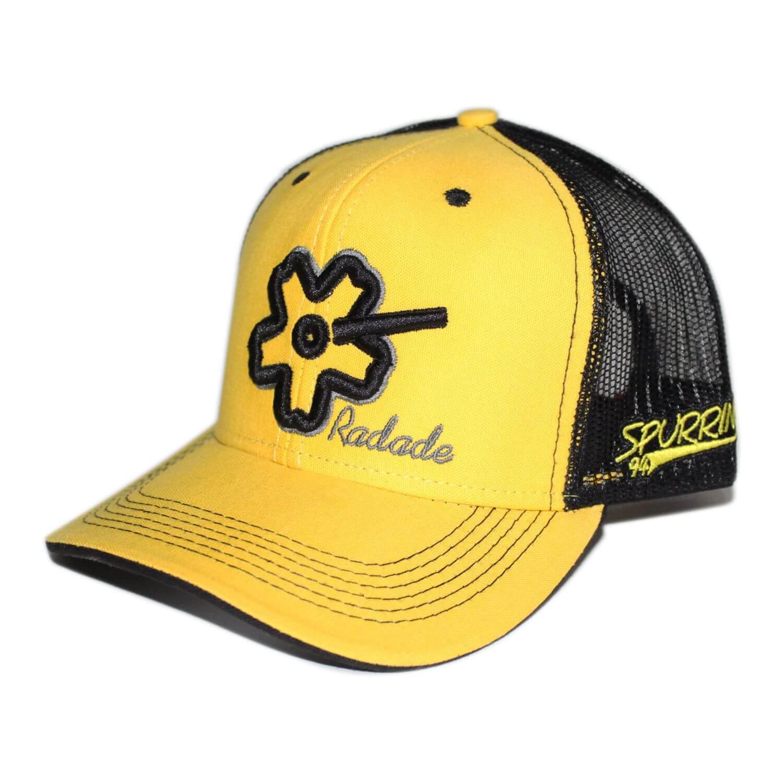 Boné Aba Curva Amarelo Tela Preto Radade - Arena Country Echaporã f4858153994