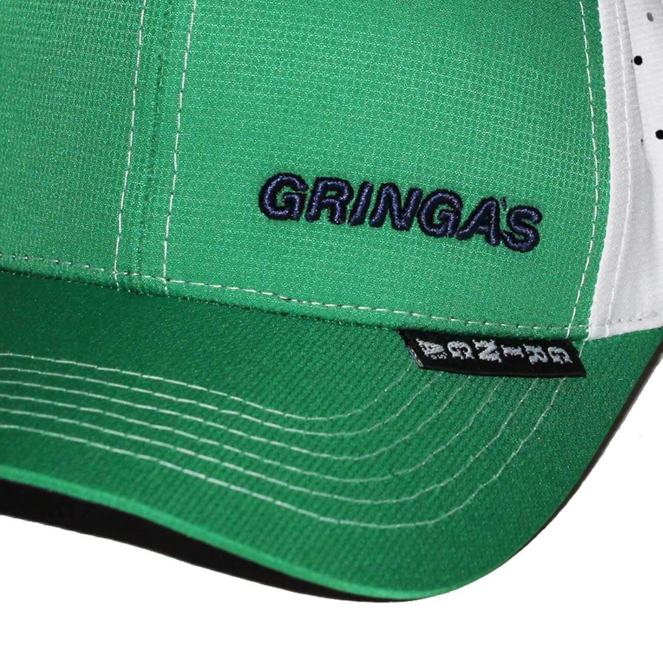 Boné Aba Curva Tech Fit Green Gringa s  9f9c5673c1a