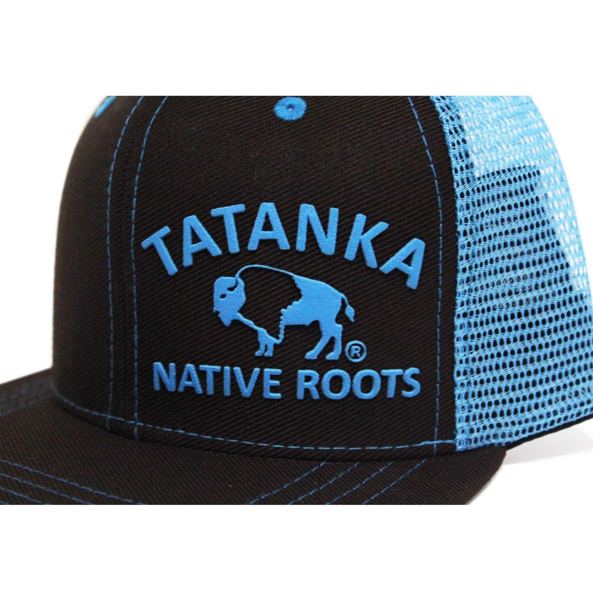 Boné Aba Reta Marrom Com Tela Azul Tatanka - Arena Country Echaporã 30a73e0e5fc