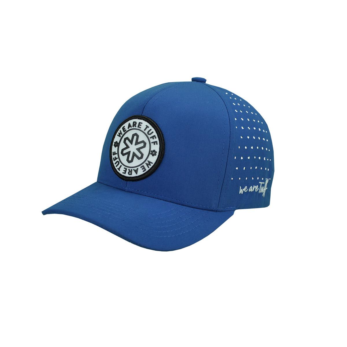 Boné Tuff Azul Logo Branco