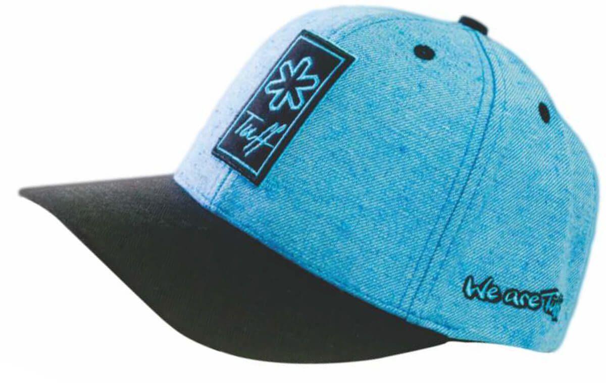 dd9fb93e7ea97 Boné Tuff Eco Blue Azul Com Aba Preta - Arena Country Echaporã