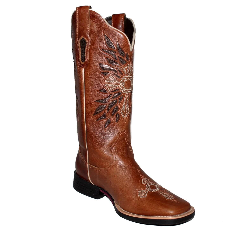 2e6b0de725 Bota Vimar Boots Feminina Atlanta Café - Arena Country Echaporã