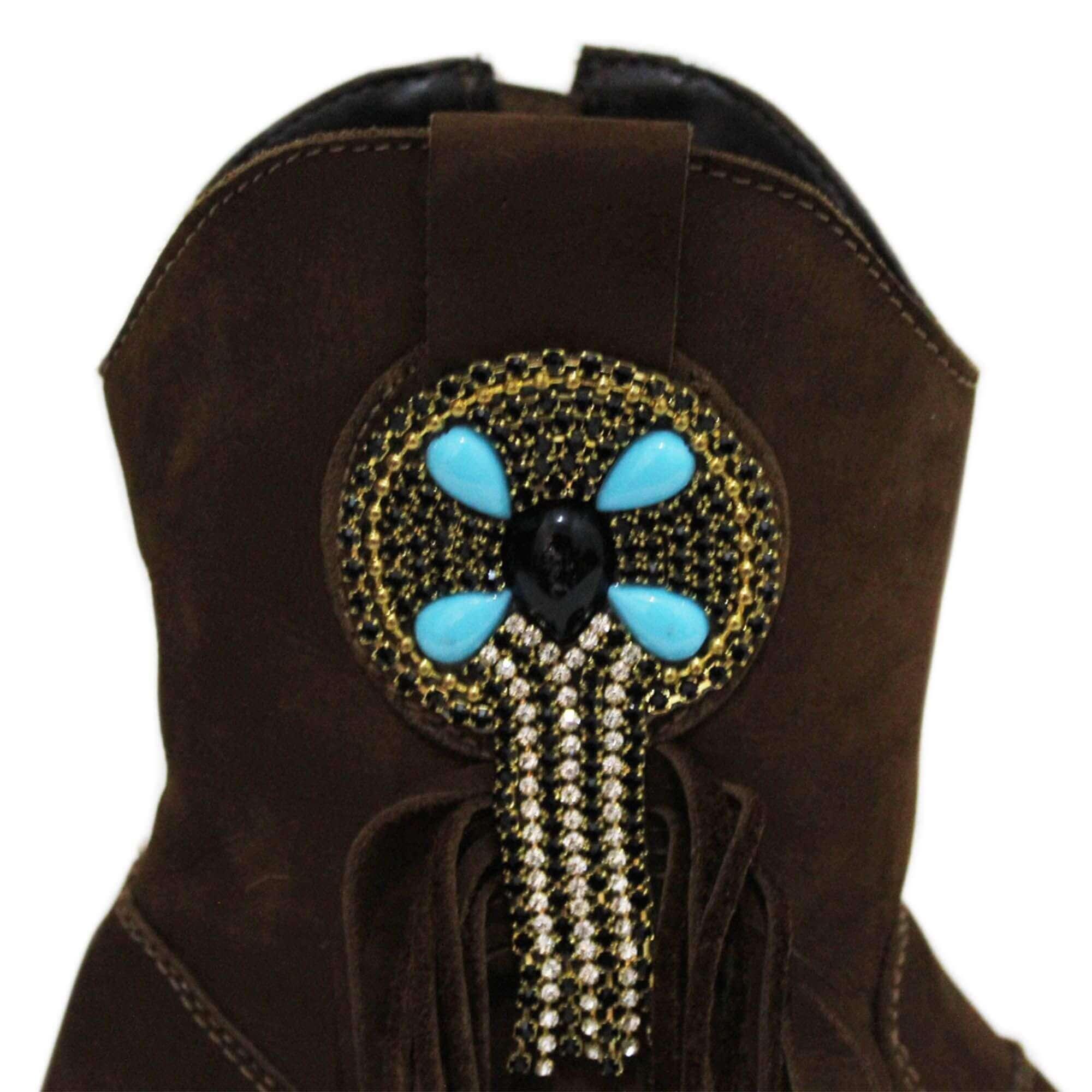 Bota Vimar Boots Feminina Nobuck Taupe