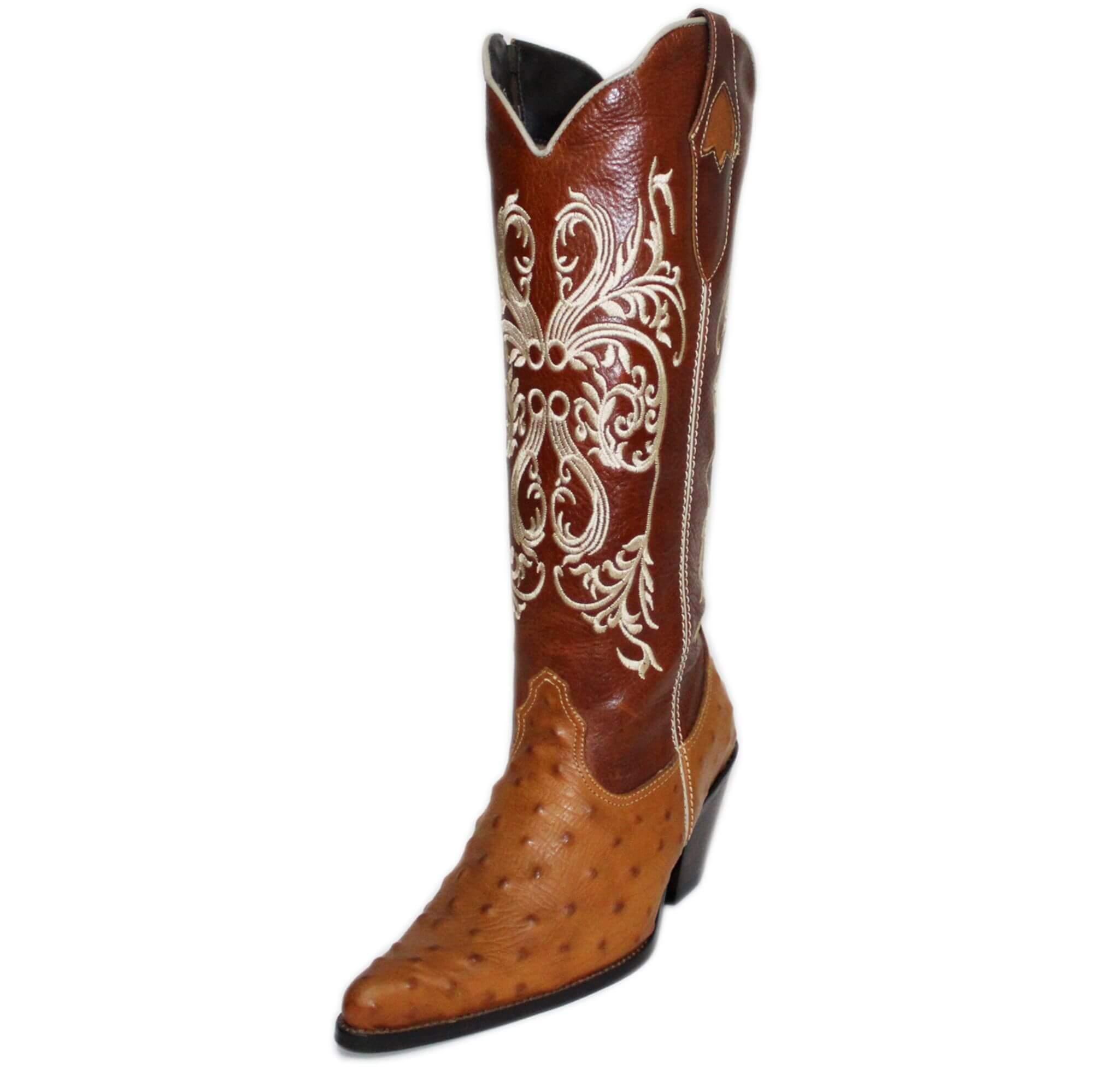 9ef3c7279d Bota Vimar Boots Feminina Couro Pinhão Havana - Arena Country Echaporã