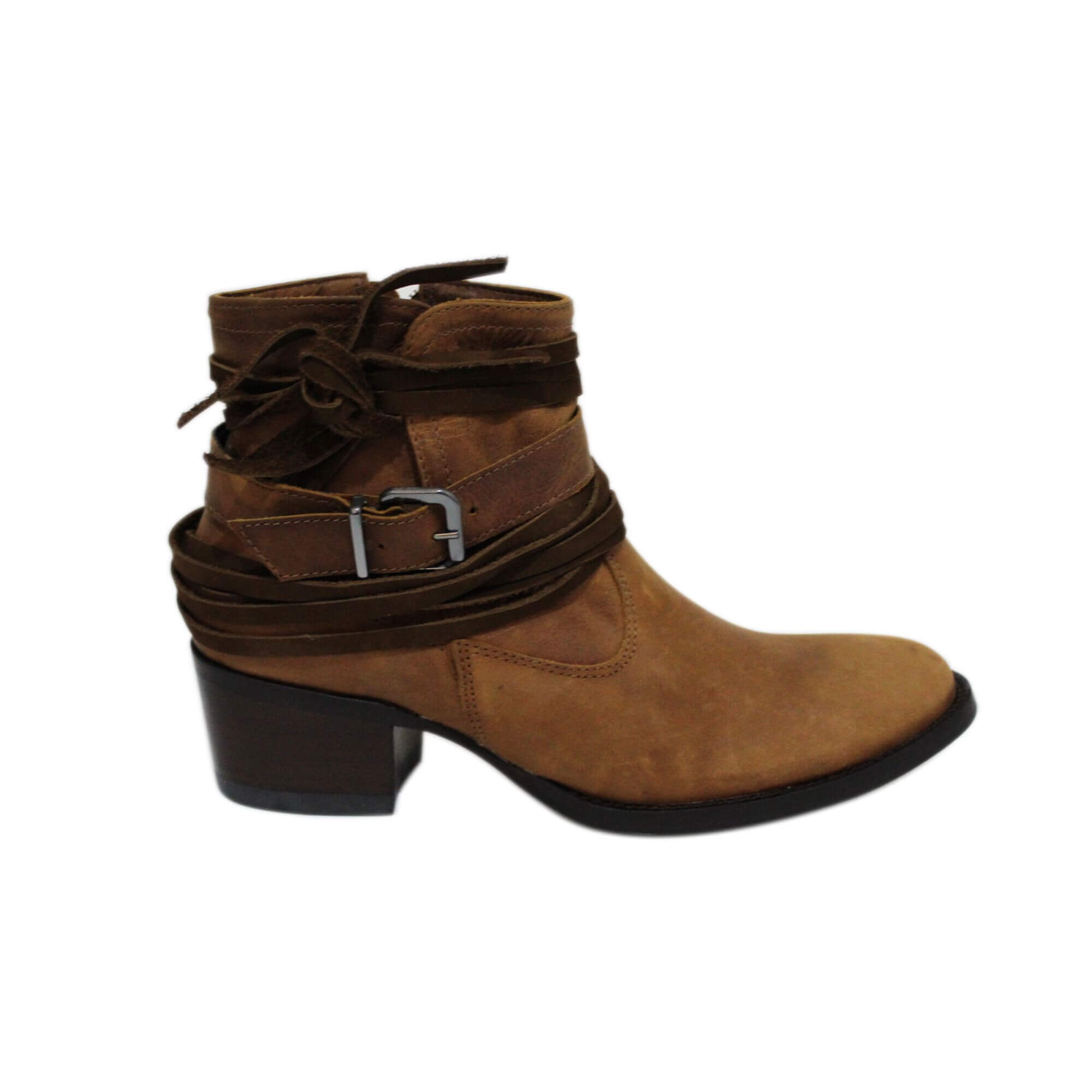 Bota Vimar Boots Feminina Couro Taupe