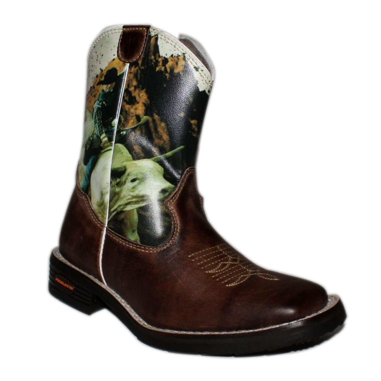 Bota Infantil Pinhão Cowboy Silk Picolotto