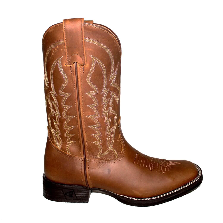 Bota Goyazes Masculina Crazy Horse Tabaco - Arena Country Echaporã 91174c6d1cb