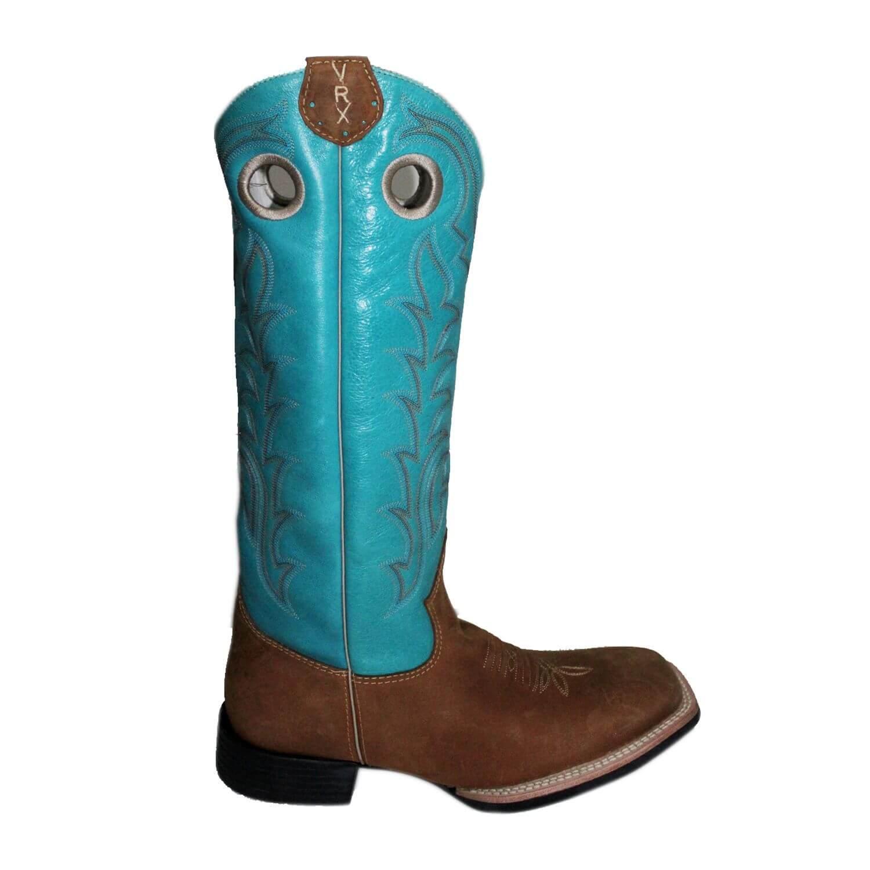 Bota Vimar Boots Masculina Nobuck Havana Turquesa