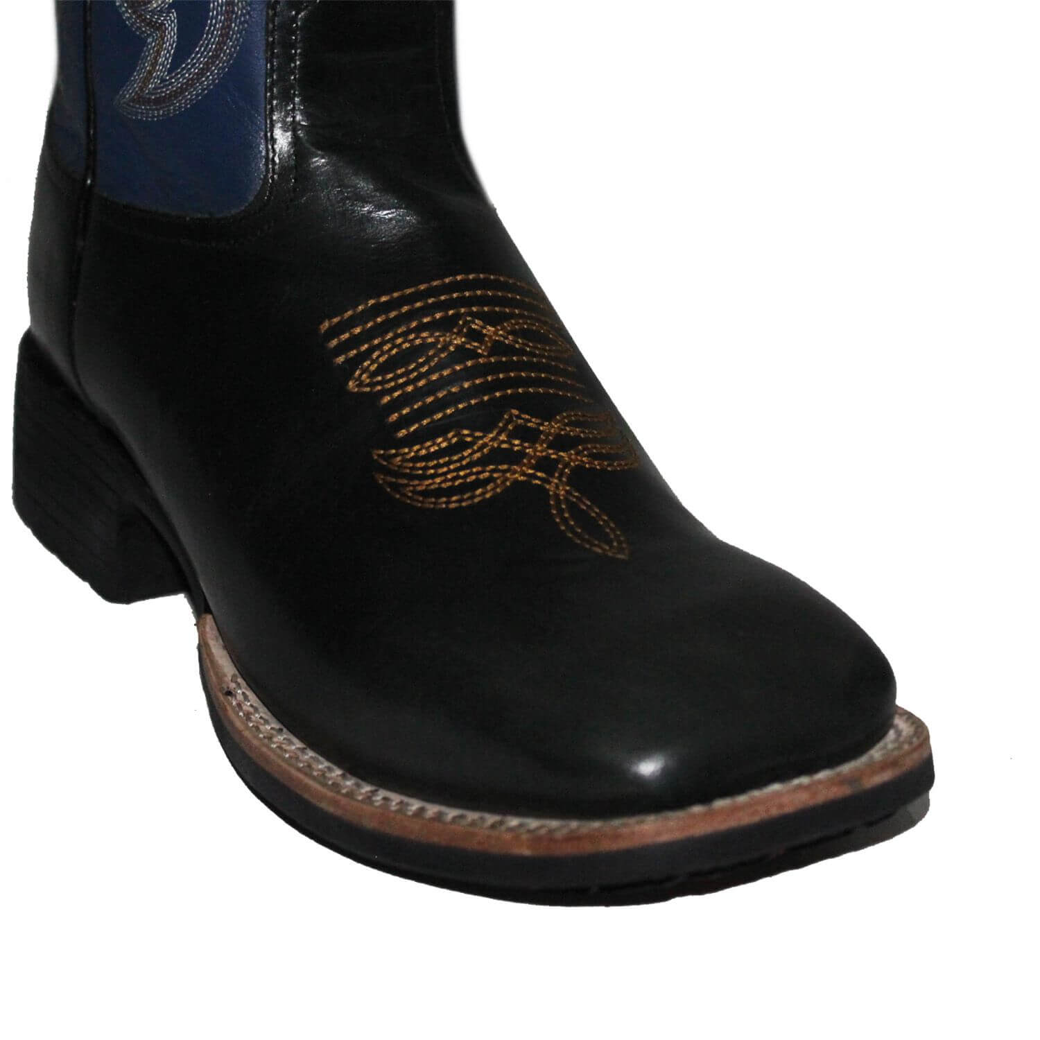 Bota Masculina Pull Up Preto Royal Brazil Country