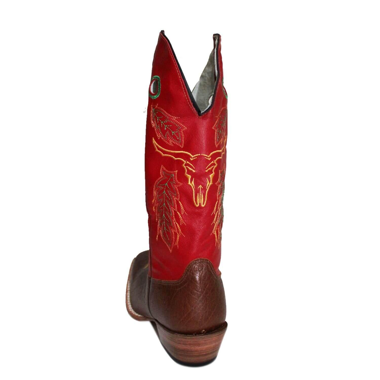 Bota Masculina Tostado Vermelho Red Dust - Arena Country Echaporã 00e48a4972a