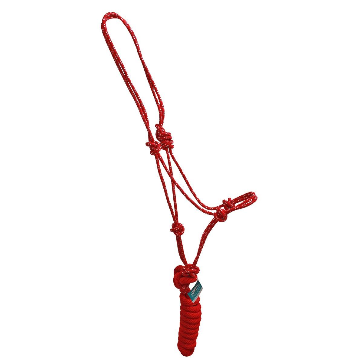 Cabresto Partrade Importado De Nylon Vermelho