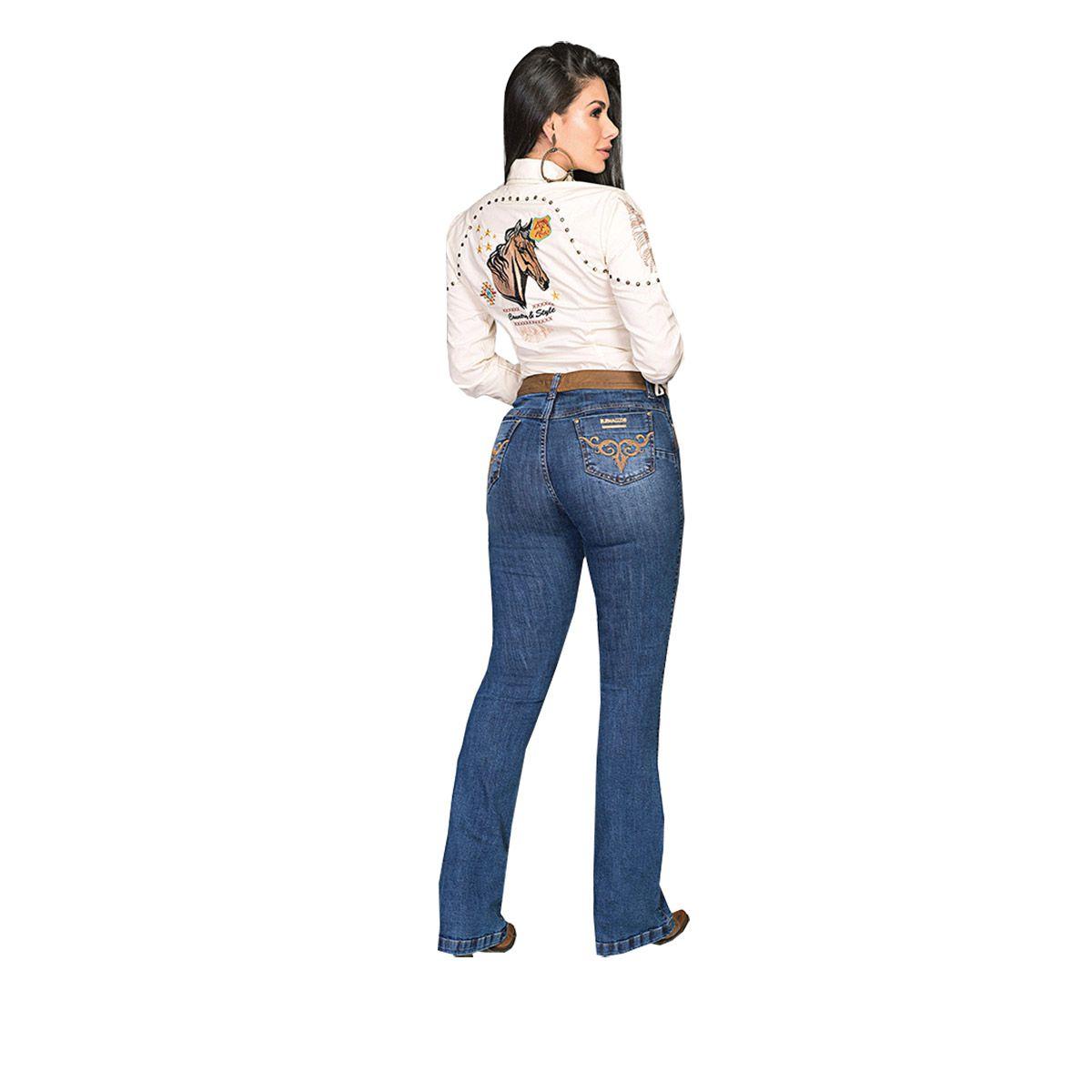 Calça Buphallos Jeans Flare
