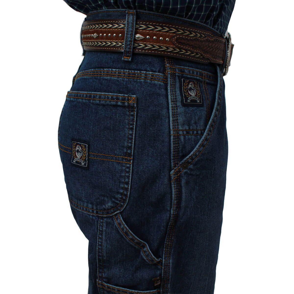 Calça Cinch Masculina Carpenter Blue Label