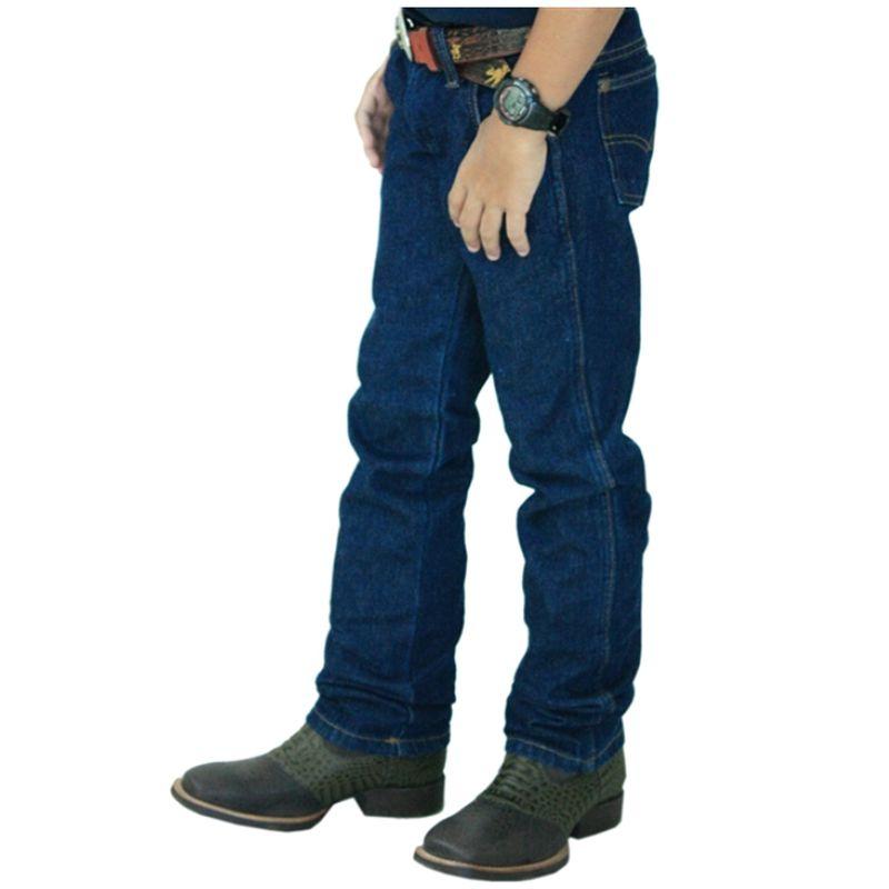 Calça Classic Jeans Infantil Stone