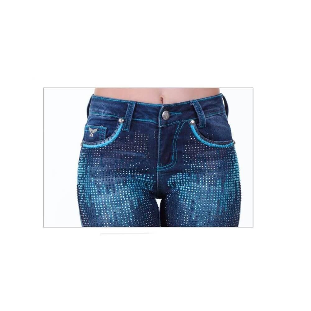Calça Jeans Feminina Kurt Zenz Western - Arena Country Echaporã 2fb72f57cc5